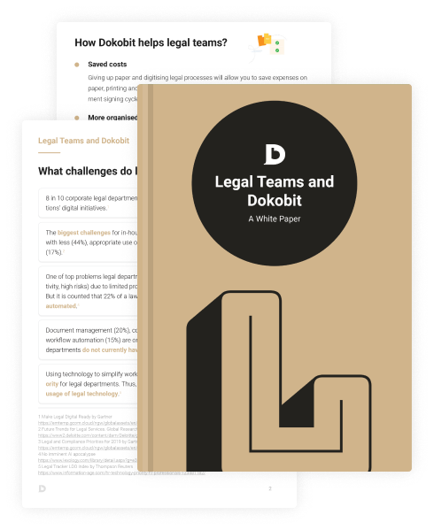 Thumbnail pages of Legal Teams and Dokobit: A White Paper