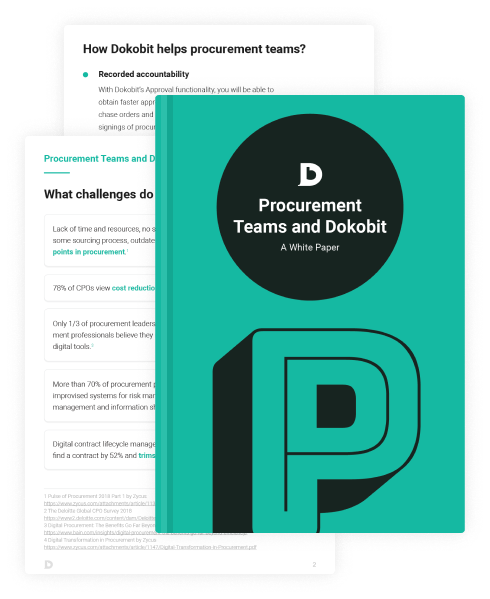 Thumbnail pages of Procurement Teams and Dokobit: A White Paper